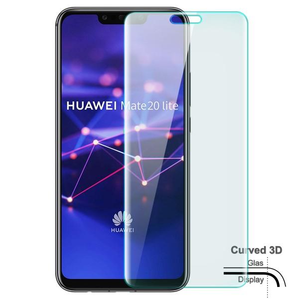 Curved Displayschutzglas für Huawei Mate 20 Lite - Transparent