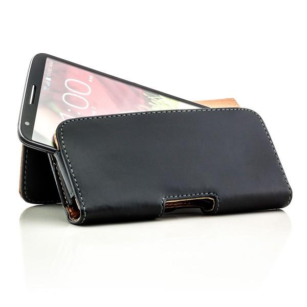 Gürteltasche für Smartphones (Innenmaße 130 x 70 x 15 mm) Querformat