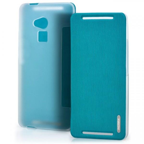 Remax Flip Tasche für HTC One Max Blau