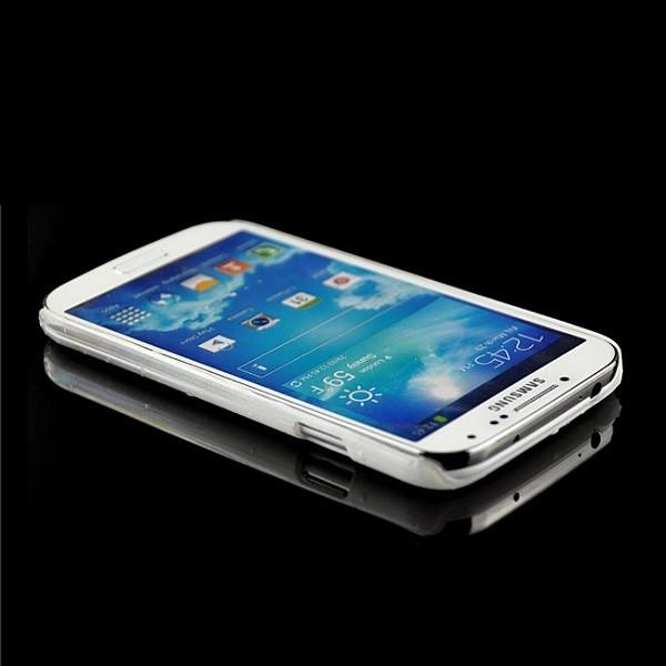 Regentropfen Hard Case für Samsung Galaxy S4 Weiß