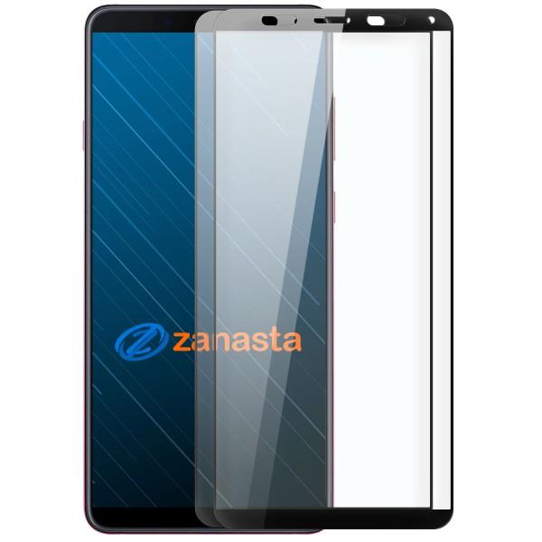 2x Full Cover Displayschutzglas für Samsung Galaxy A9 (2018) - Schwarz