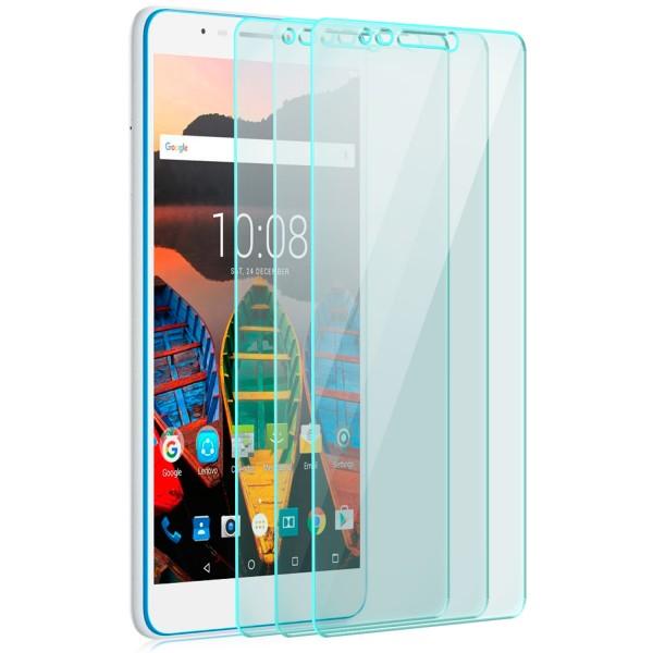 3x Displayschutzglas für Lenovo Tab3 7 Plus