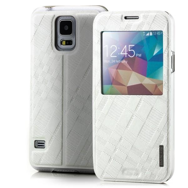 Baseus Brocade Case für Samsung Galaxy S5 Weiß