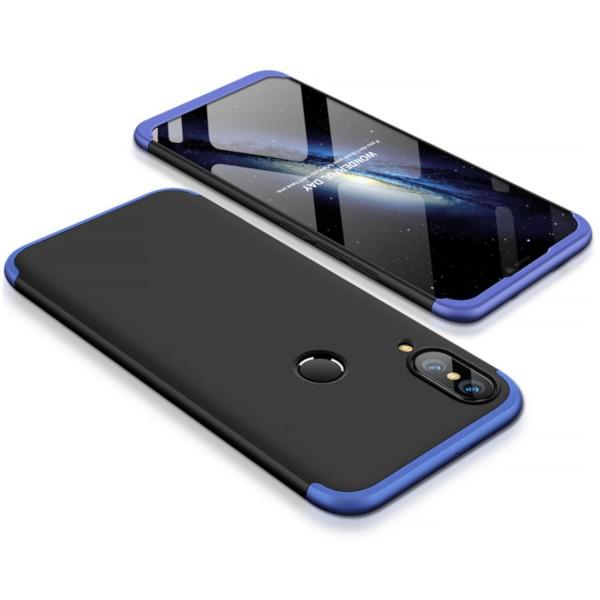 GKK Hülle für Huawei P20 Lite - Schwarz-Blau