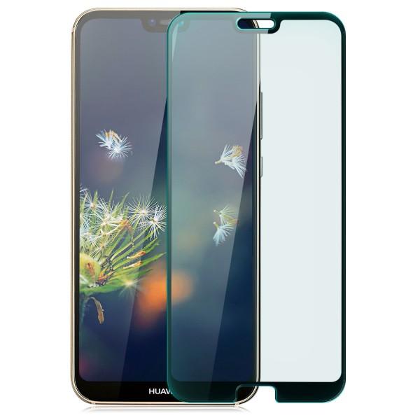 Curved Displayschutzglas für Huawei P20 - Schwarz