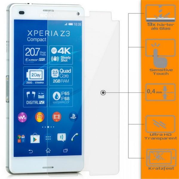 Displayschutzglas für Sony Xperia Z3 Compact