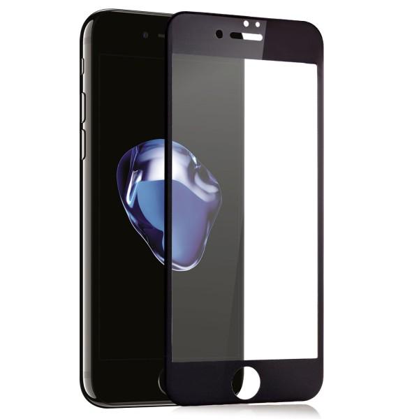 """Full Cover Displayschutzglas für Apple iPhone 6 / 6S (4,7"""") - Schwarz"""