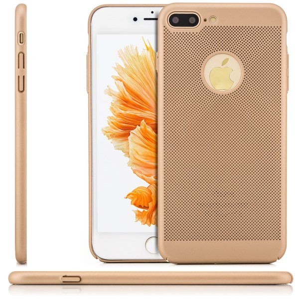 "Gitter Back Cover für Apple iPhone 8 / 7 (4,7"") - Gold"