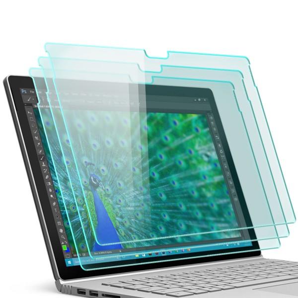 """3x Displayschutzglas für Microsoft Surface Book 13,5"""""""