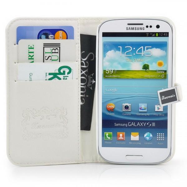 XuenAir Tasche für Samsung Galaxy S3 Weiß