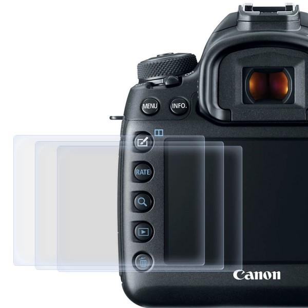 3x Displayschutzfolie für Canon EOS 5D