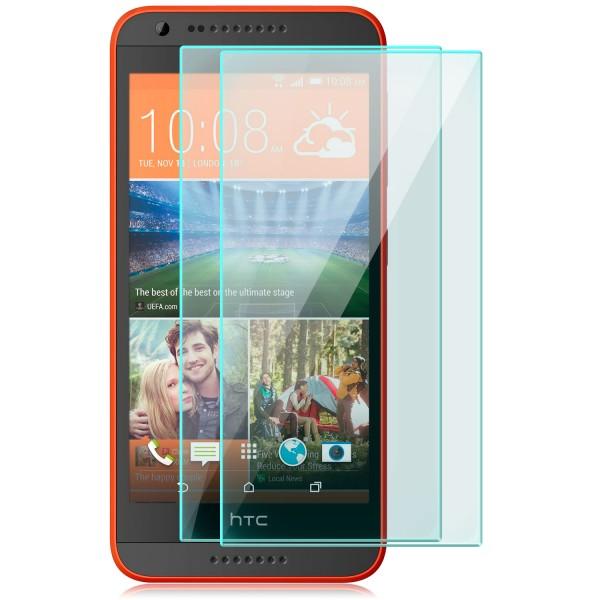2x Displayschutzglas für HTC 620G Dual Sim