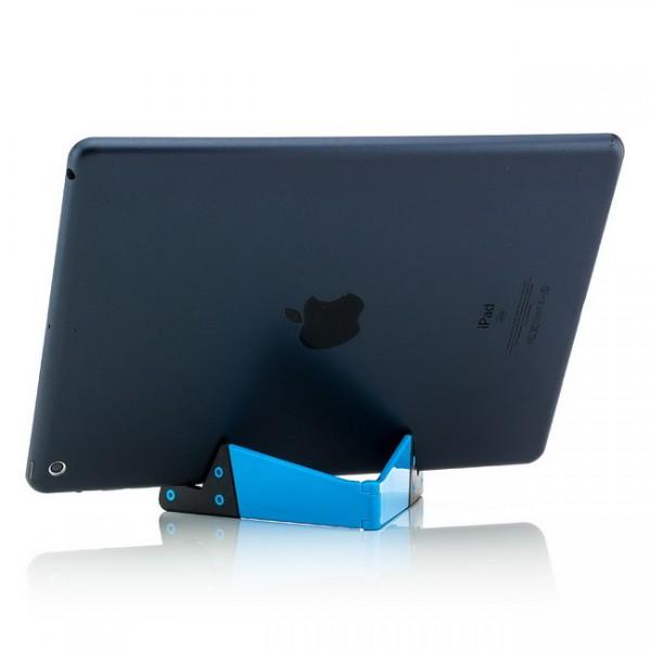 Kleine Halterung für Tablets, Smartphones und E-Book-Reader Blau