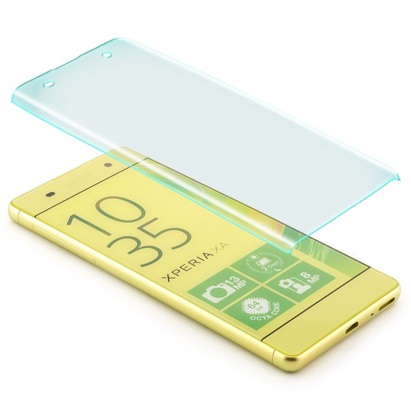 Curved Displayschutzglas für Sony Xperia XA - Transparent