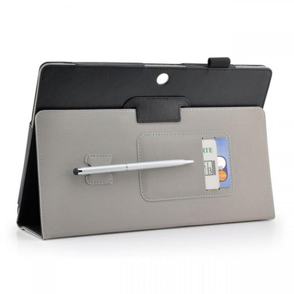 Tablet Tasche für Asus Memo Pad FHD 10 ME302 C Schwarz + Stift