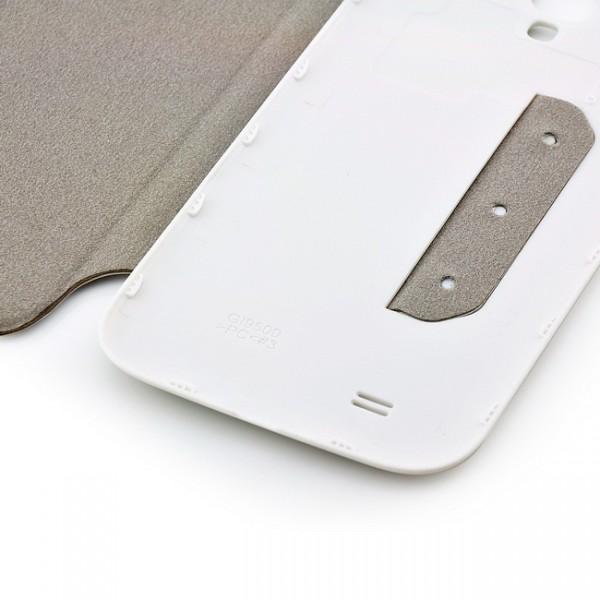 Slim Flip Case für Samsung Galaxy S4 Weiß