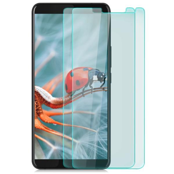 2x Displayschutzglas für HTC U11 Plus