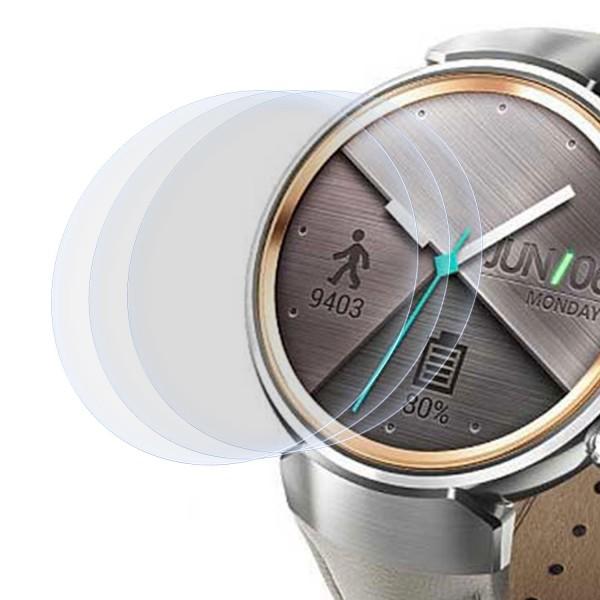 """3x Displayschutzfolie für Asus Zenwatch 3 (1,39"""")"""