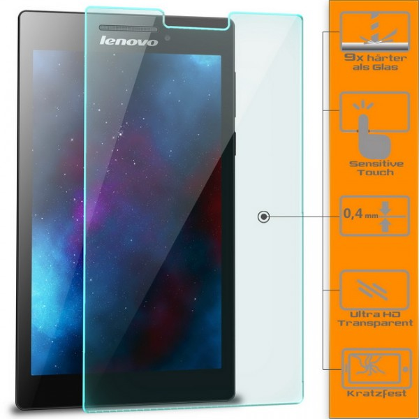 Displayschutzglas für Lenovo Tab 2 A7-30