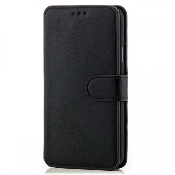 Slim Business Tasche für Samsung Galaxy S5 Schwarz