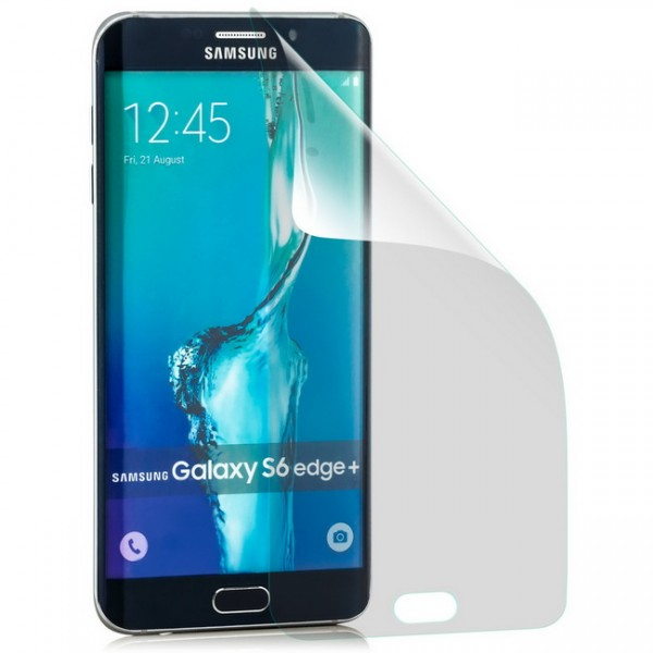 Curved Displayschutzfolie für Samsung Galaxy S6 Edge Plus Klar