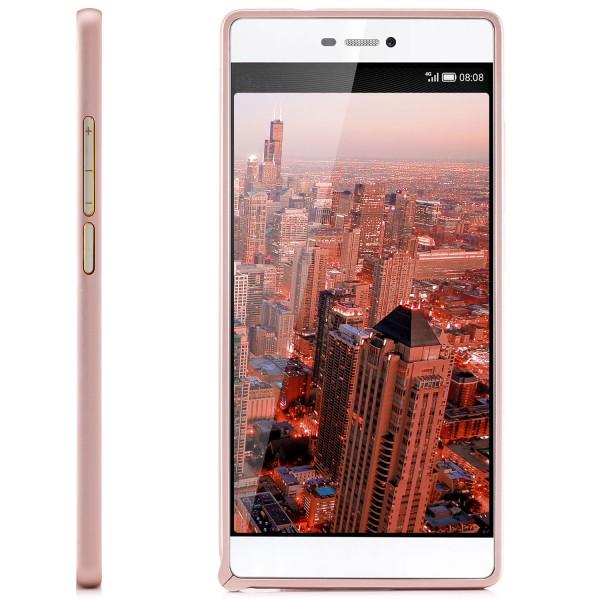 Ultra Slim Aluminium Rahmen Klinke für Huawei P8 - Rosa