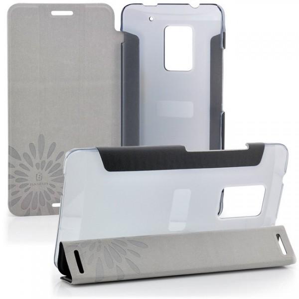 Baseus Flip Tasche für HTC One Max Schwarz