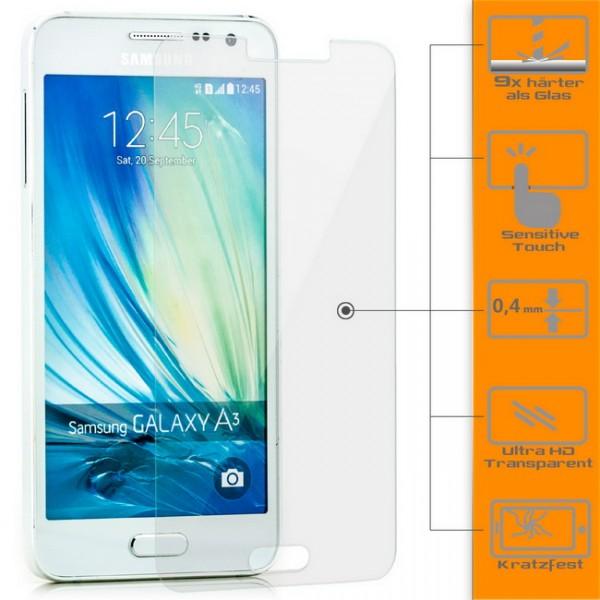 Displayschutzglas für Samsung Galaxy A3