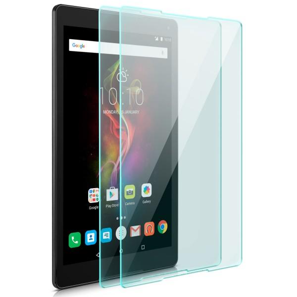 "2x Displayschutzglas für Alcatel Pop 4 (10"")"