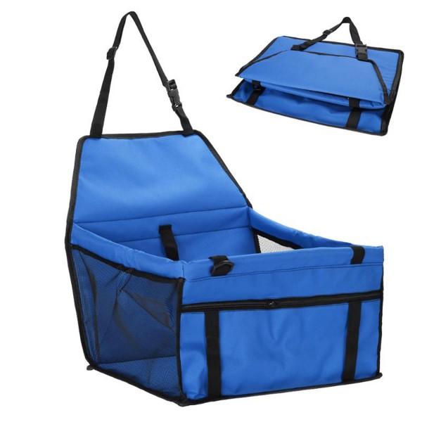 Haustier Auto Matte - Blau