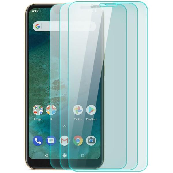 3x Displayschutzglas für Xiaomi Mi A2 Lite