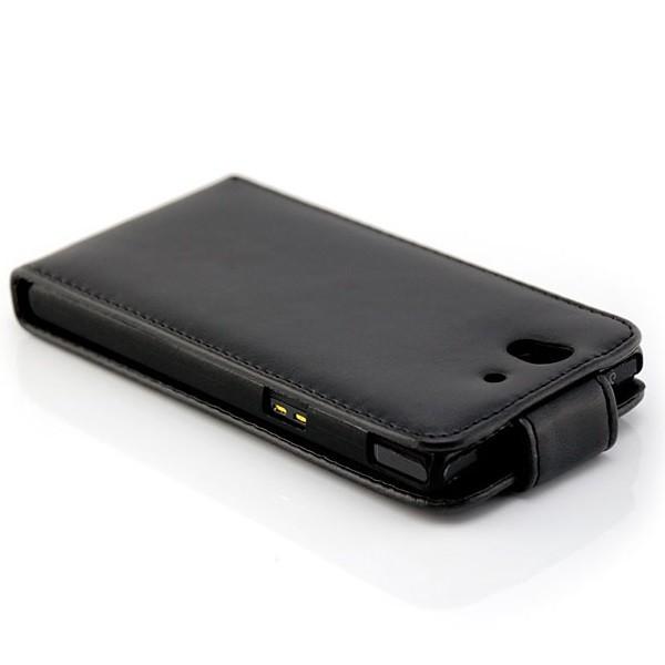 Business Case für Sony L36h Xperia Z Schwarz