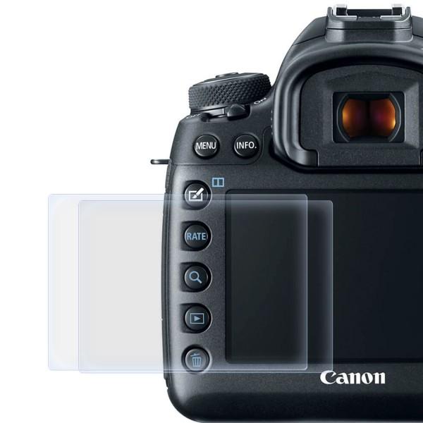 2x Displayschutzfolie für Canon EOS 5D