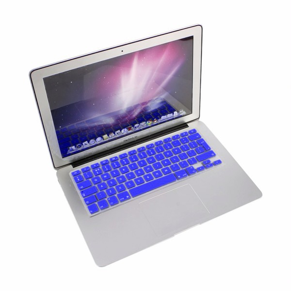 """MacBook Tastatur Cover 13"""" / 15"""" / 17"""" - Dunkelblau"""
