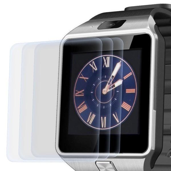 3x Displayschutzfolie für Smart Watch DZ09