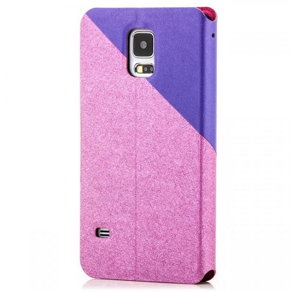 Two Colours Tasche für Samsung Galaxy S5 Pink-Violett