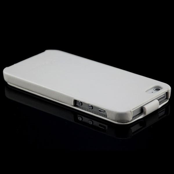 Business Flip Case für Apple iPhone 5 & 5S Grau
