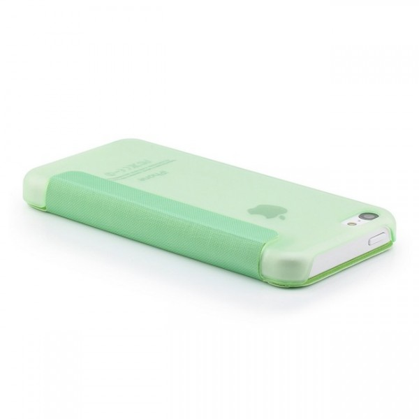 Slim View Case für Apple iPhone 5C Grün