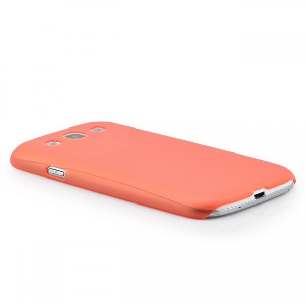 Ultra Slim Back Cover für Samsung Galaxy S3 Rot