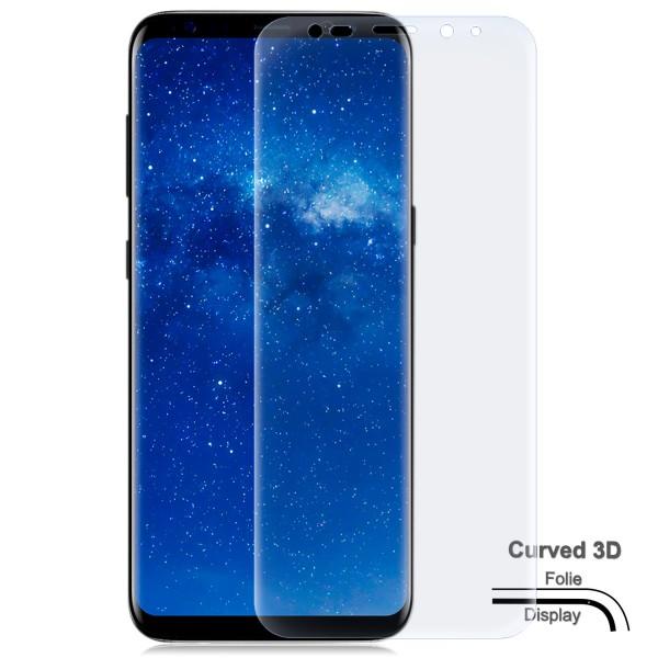 Curved Displayschutzfolie für Samsung Galaxy Note 8 - Klar