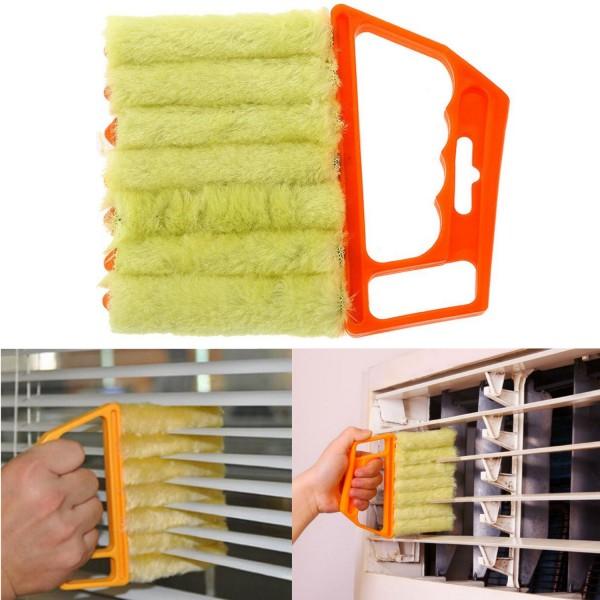 Jalousinen Bürste - Orange-Gelb