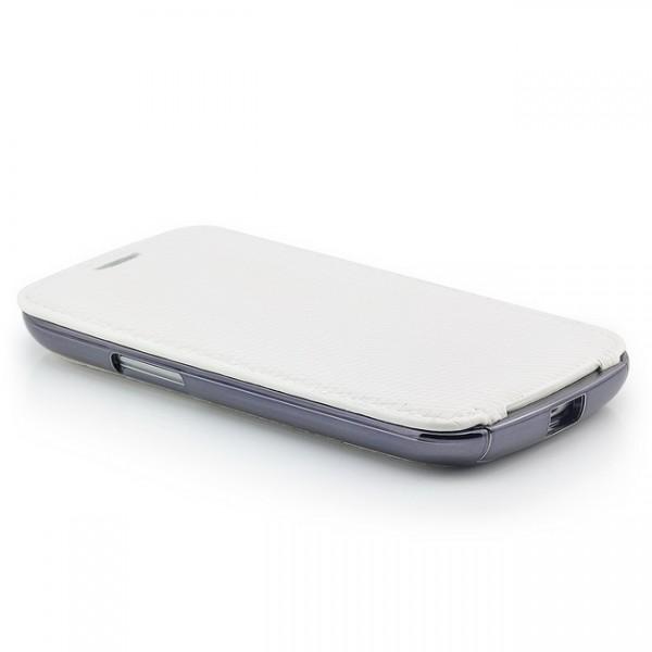 3 in 1 Flip Case für Samsung Galaxy S3 Weiß