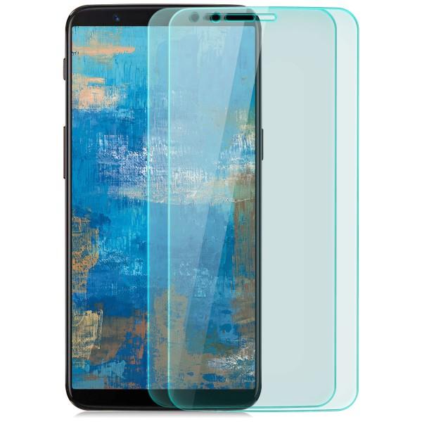 2x Displayschutzglas für OnePlus 5T