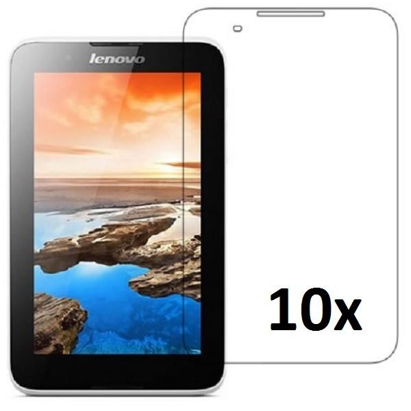 10x Displayschutzfolie für Lenovo A7-50 Matt