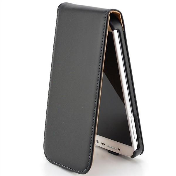 Flip Case mit Magnetverschluss für Samsung Galaxy S4 Schwarz
