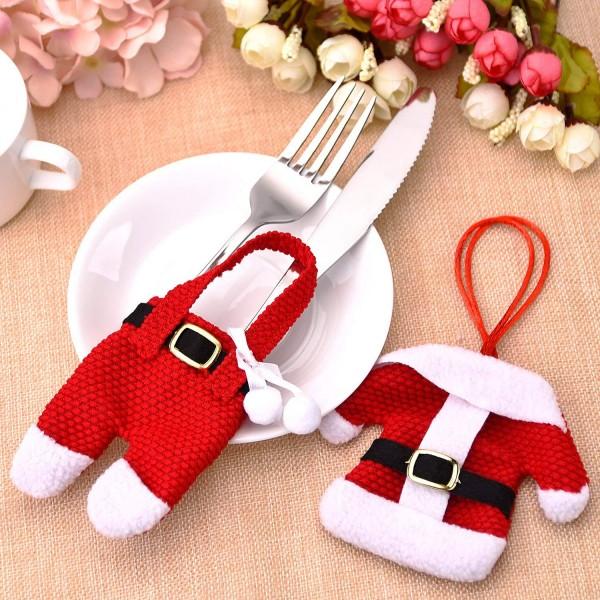 Weihnachten Bestecktaschen Set