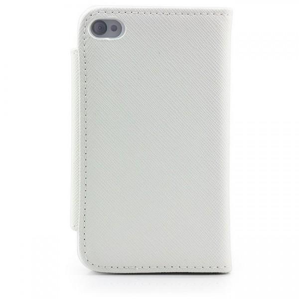 Business Visiten Tasche für Apple iPhone 4 & 4S Weiß