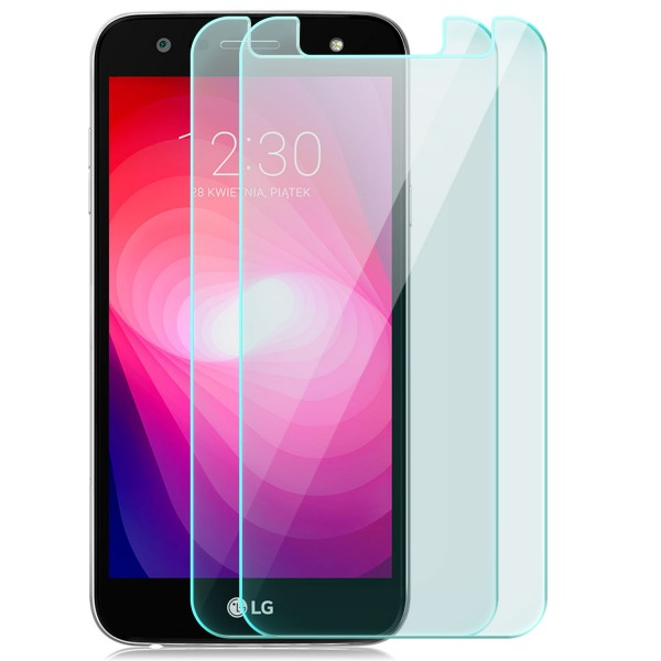 2x Displayschutzglas für LG X power