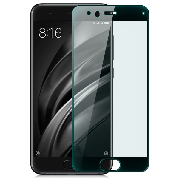Full Cover Displayschutzglas für Xiaomi Mi 6 - Schwarz