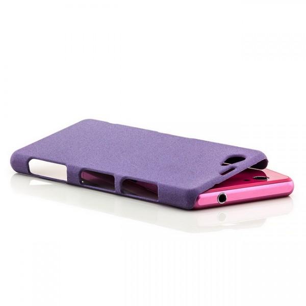 Hard Cover für Sony Xperia Z1 Compact Violett
